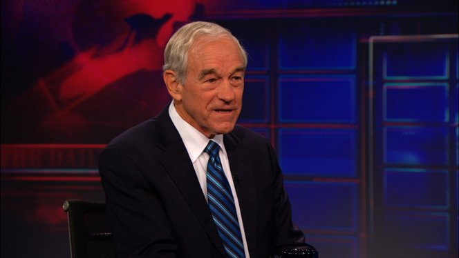 exclusive ron paul extended interview pt 2 the daily show with