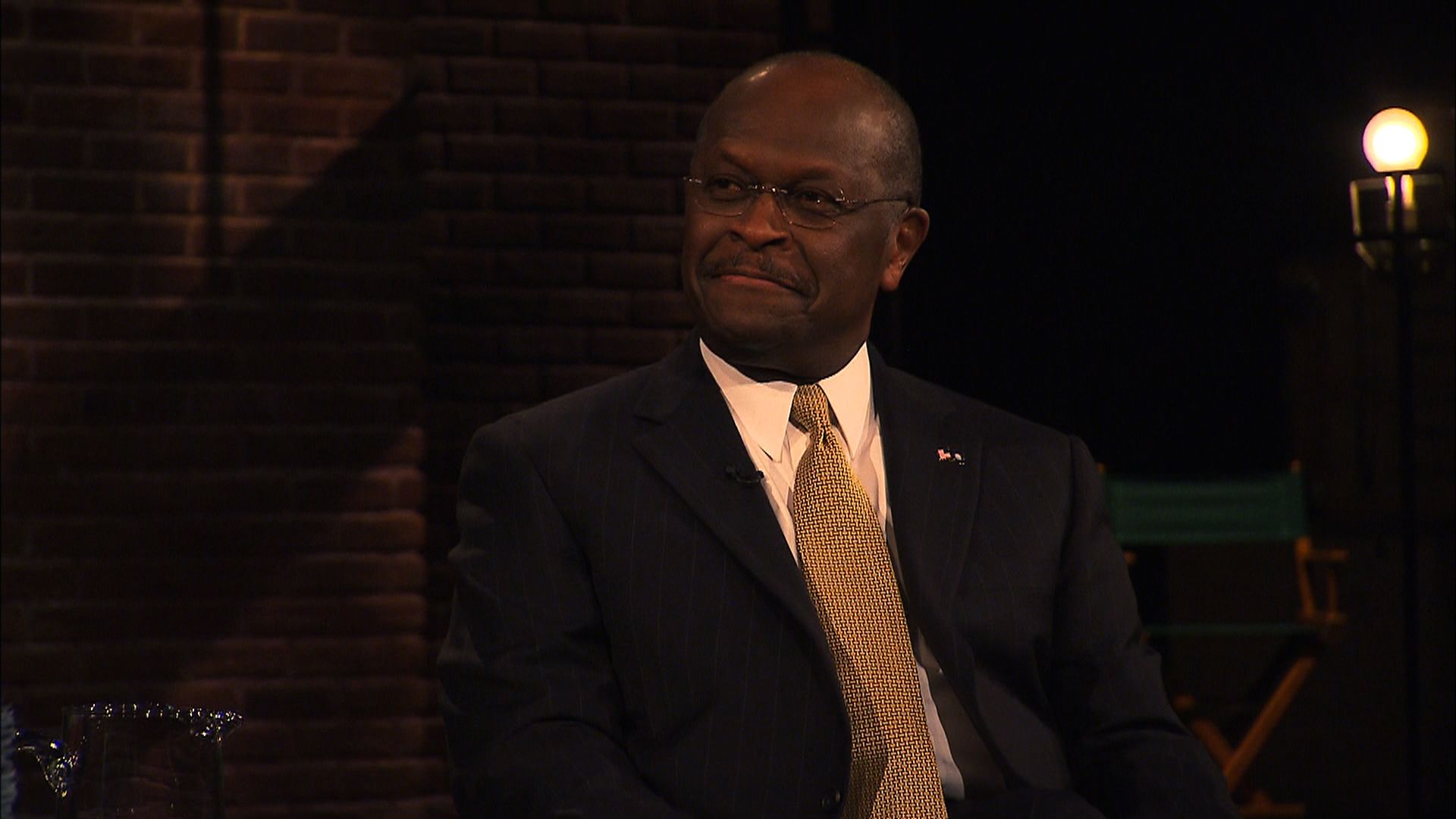 Inside the Political Curtain with John Oliver - Herman Cain - The Daily Show with Jon Stewart ...