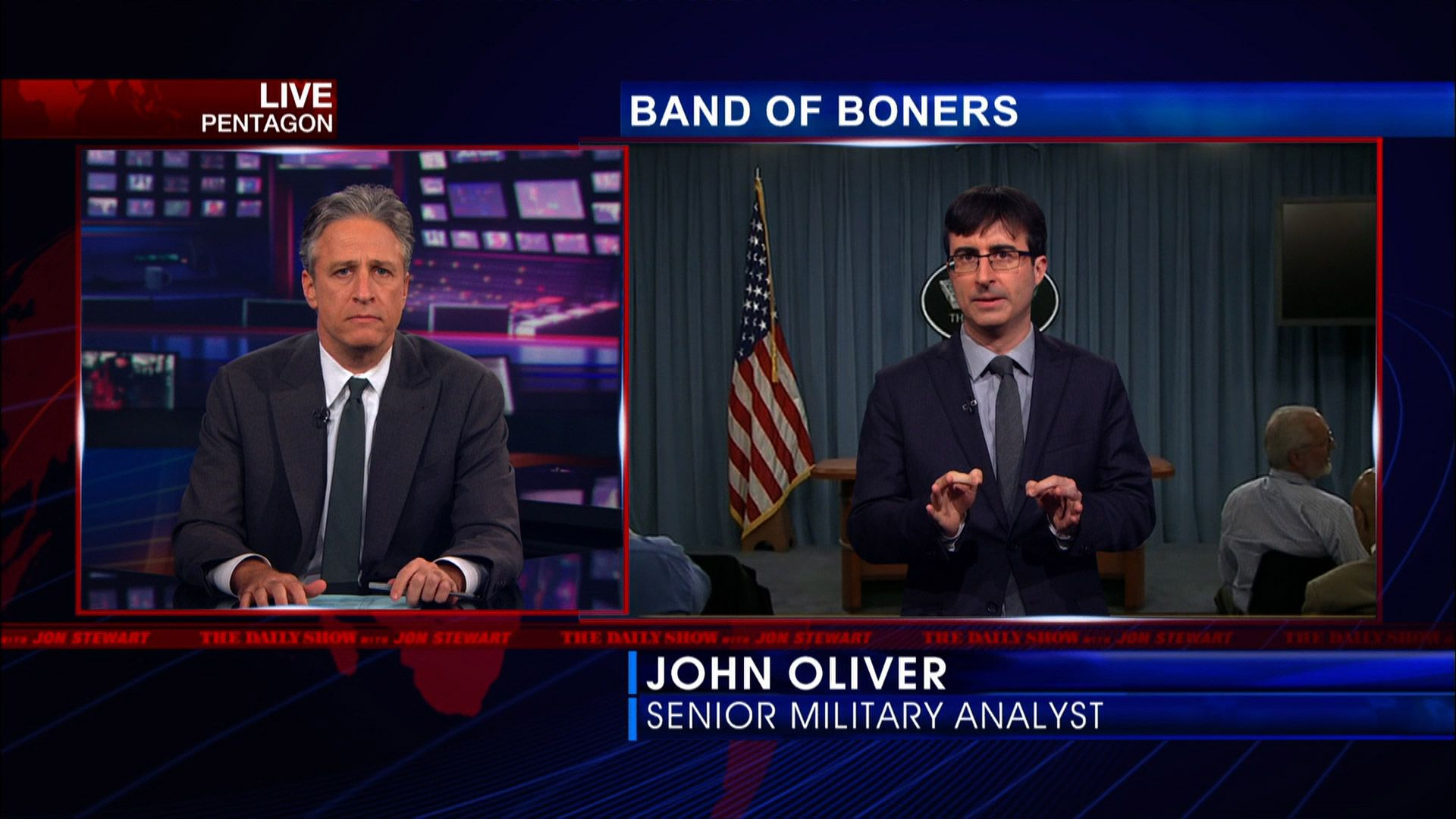band of boners - the daily show with jon stewart (video clip
