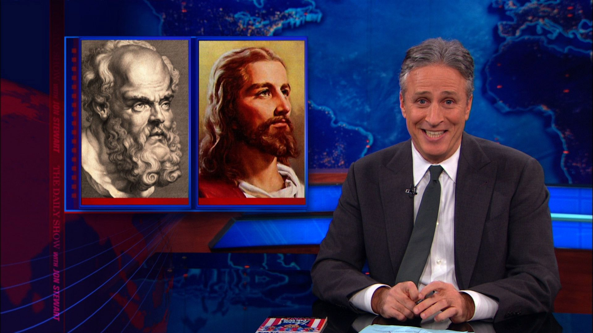 The War on Christmas: Friendly Fire Edition - The Daily Show with ...