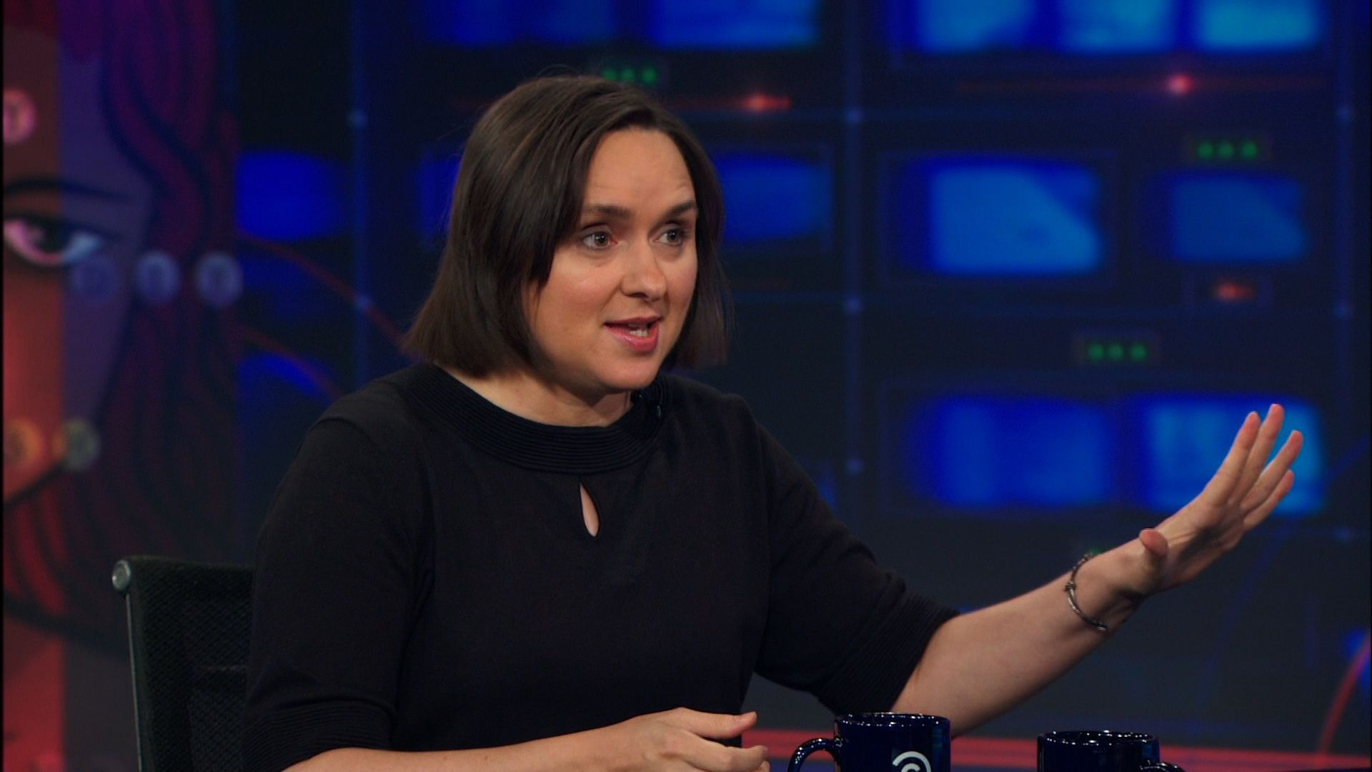 sarah vowell the daily show jon stewart comedy central