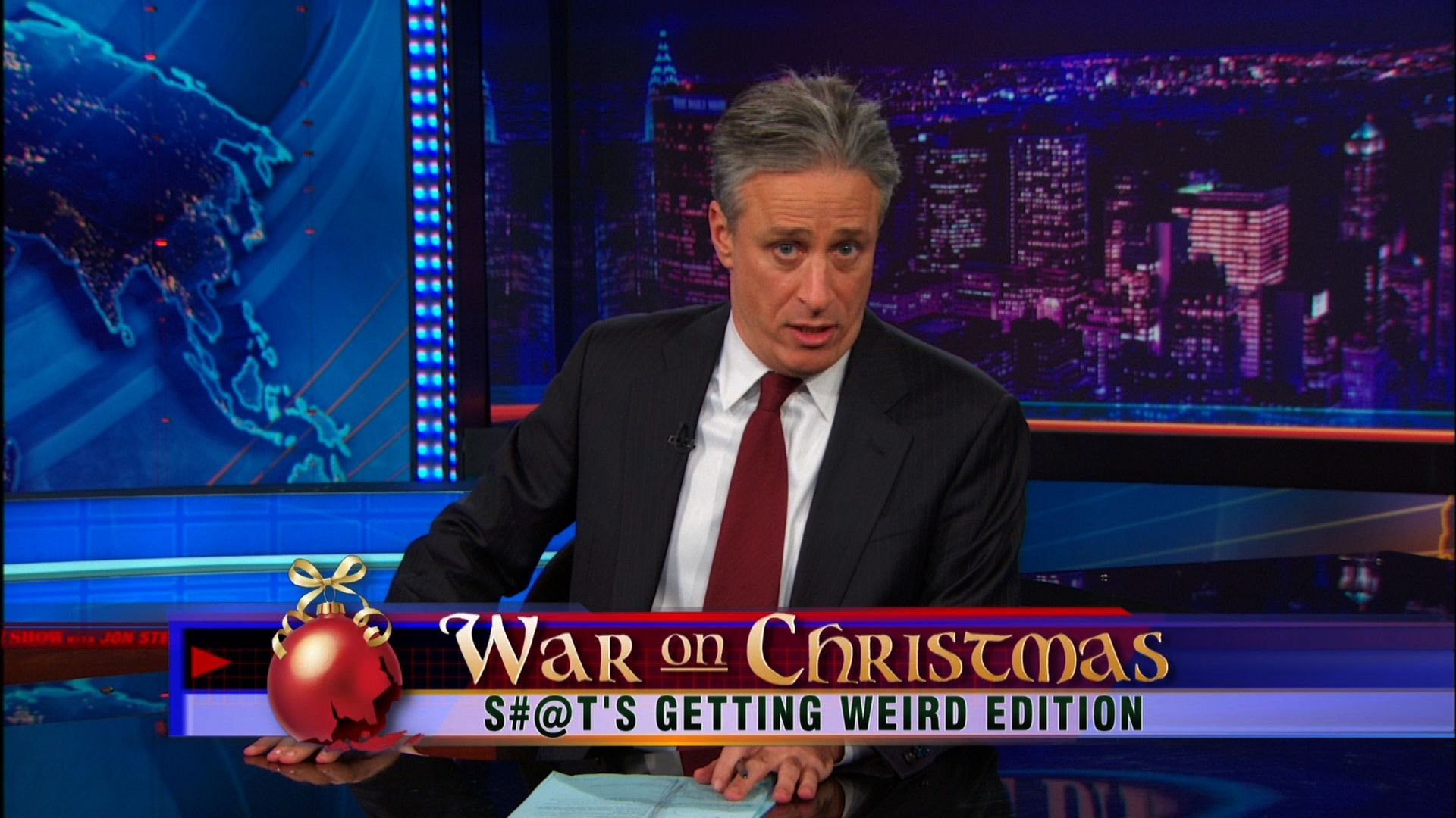 War on Christmas - S#@t\'s Getting Weird Edition - The Daily Show ...