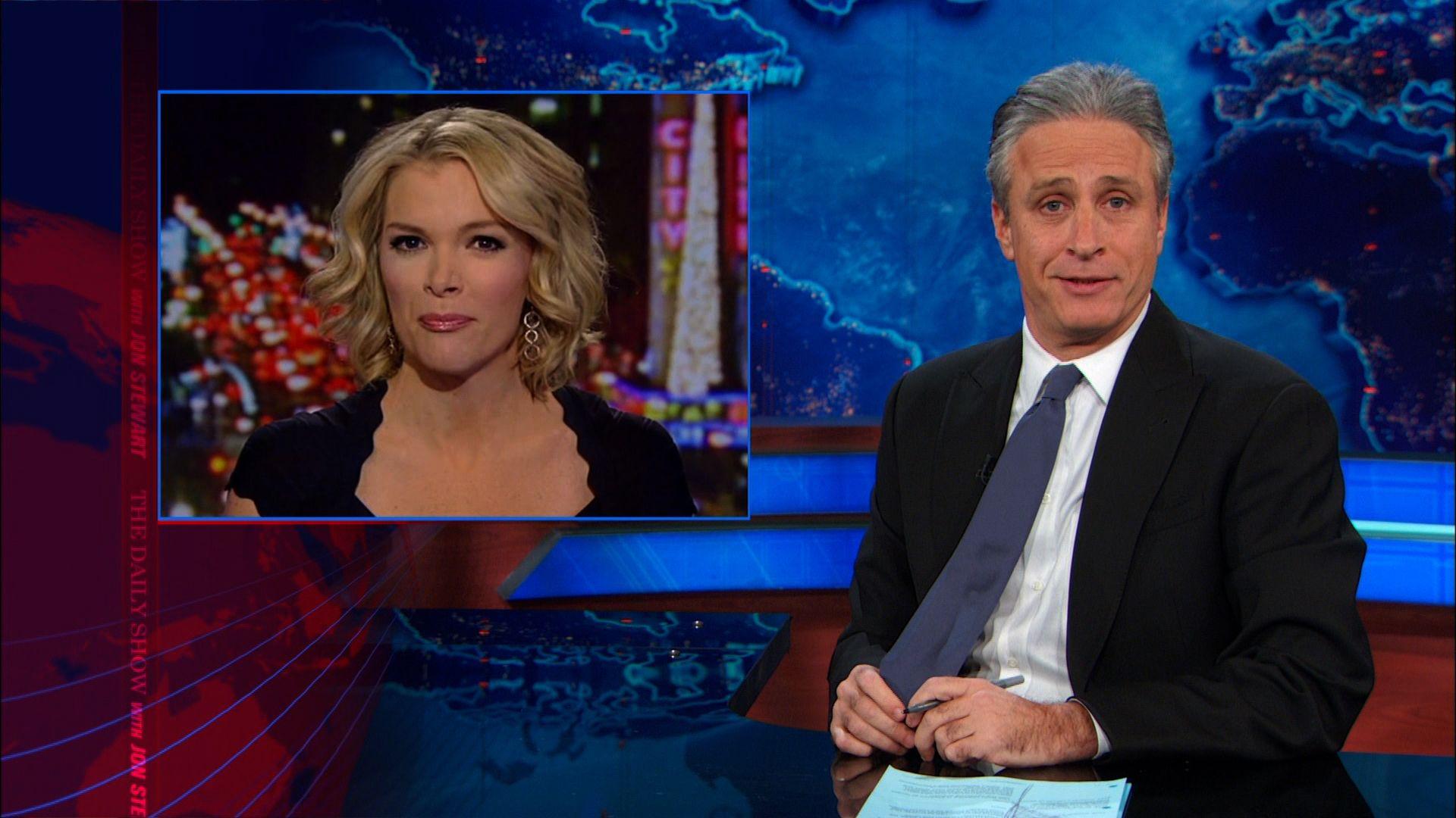 White Santa & Megyn Kelly\'s Apology - The Daily Show with Jon ...