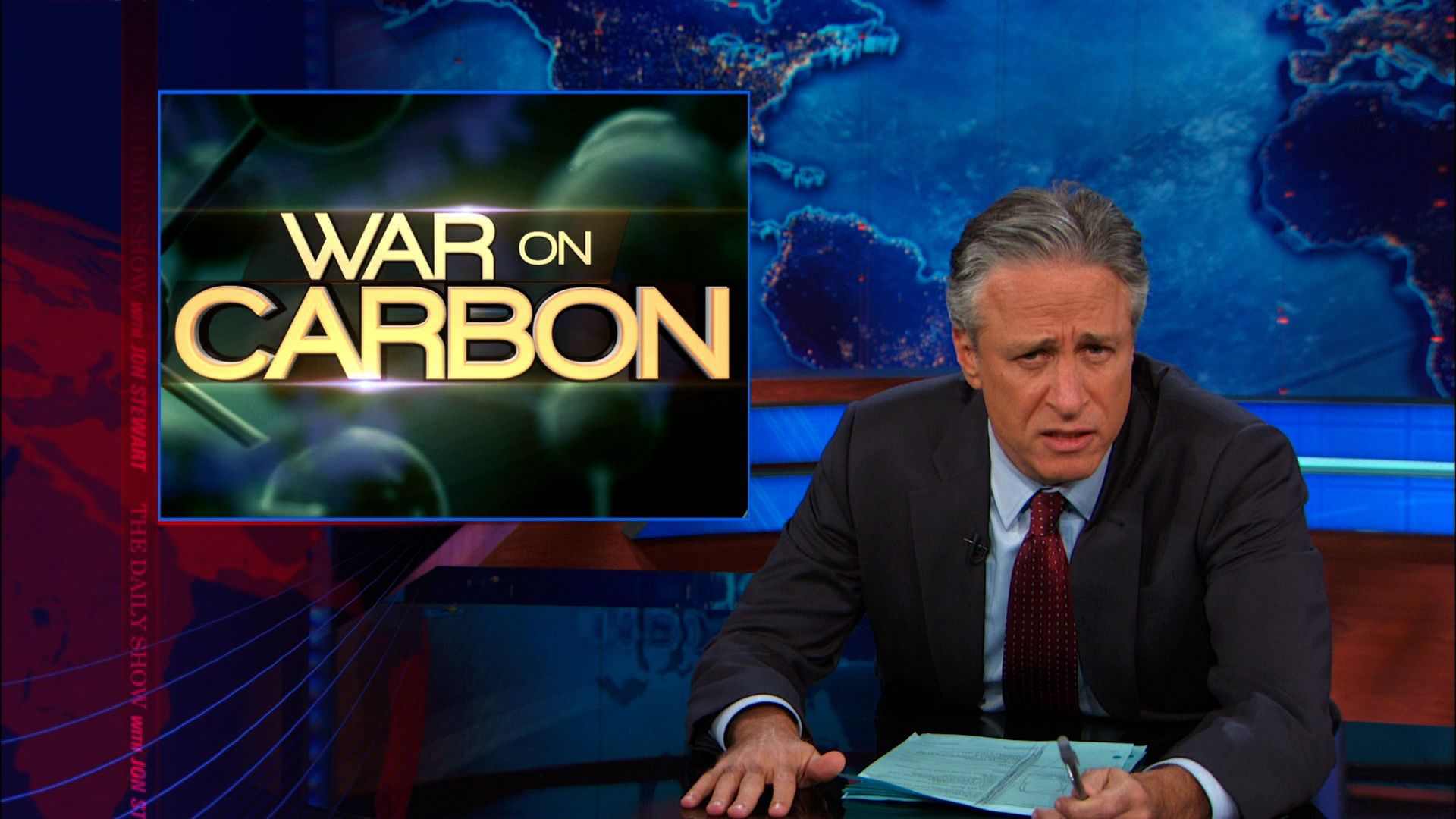 War on Carbon - The Daily Show with Jon Stewart (Video Clip ...