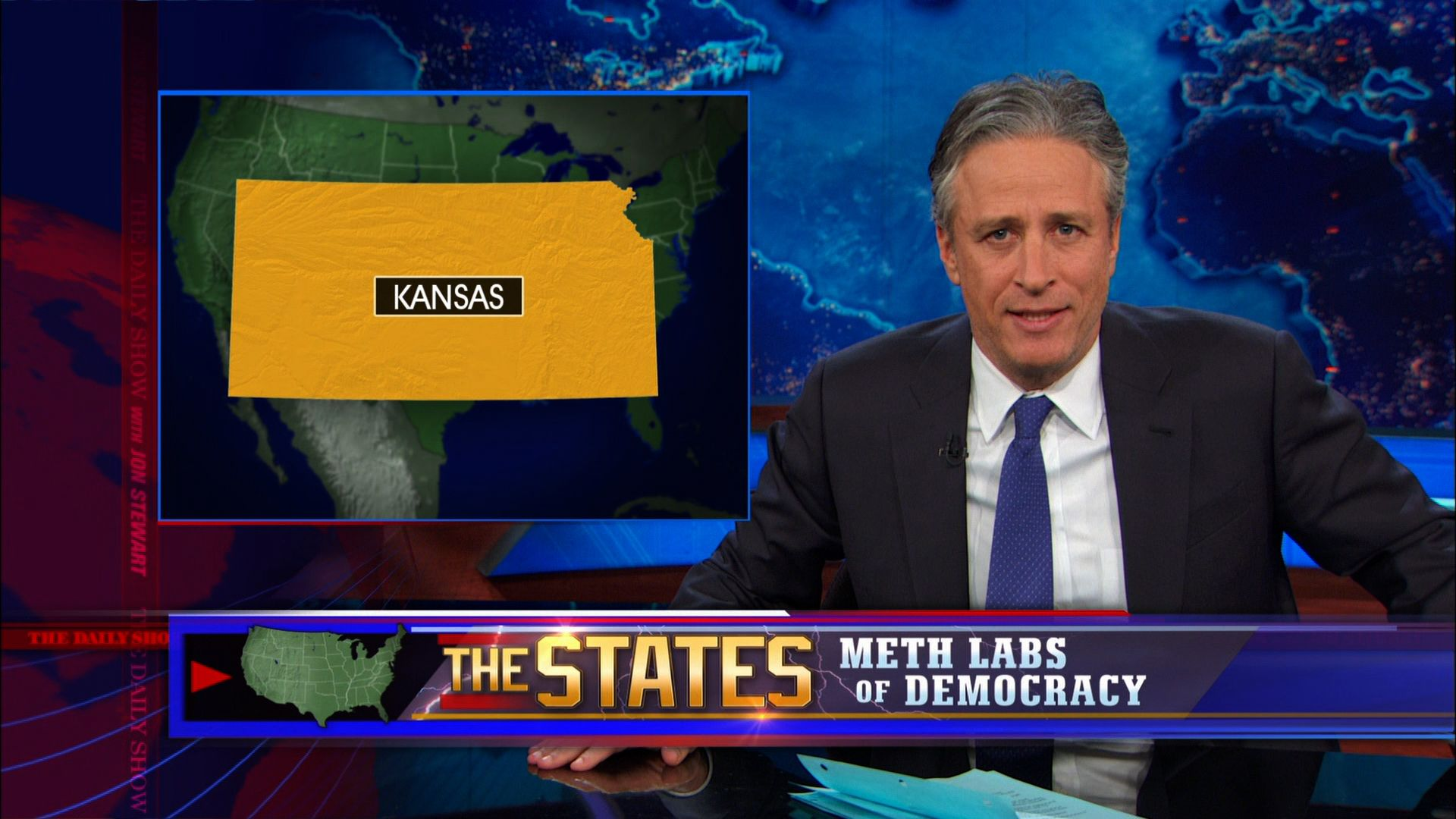 The States: Meth Labs of Democracy - The Daily Show with Jon Stewart (Video Clip)