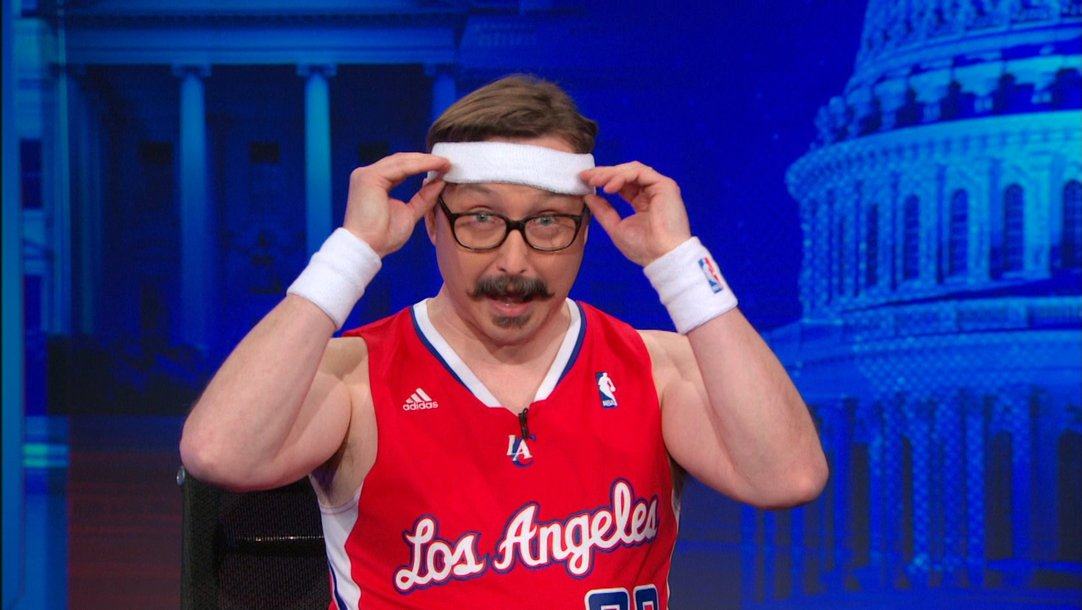 b56541cf John Hodgman - Taking the LA Clippers for a Spin - The Daily Show with Jon  Stewart - Video Clip | Comedy Central