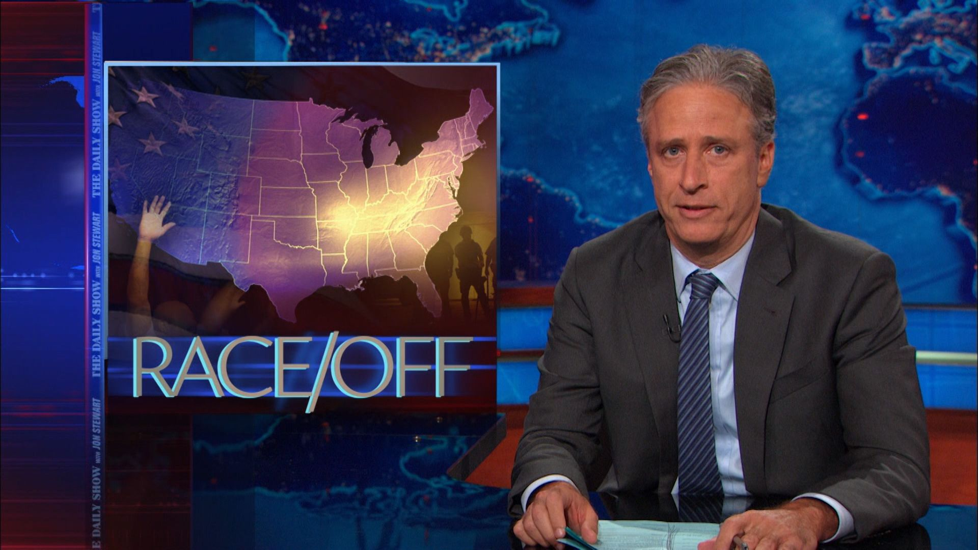 Race/Off - The Daily Show with Jon Stewart (Video Clip) | Comedy Central