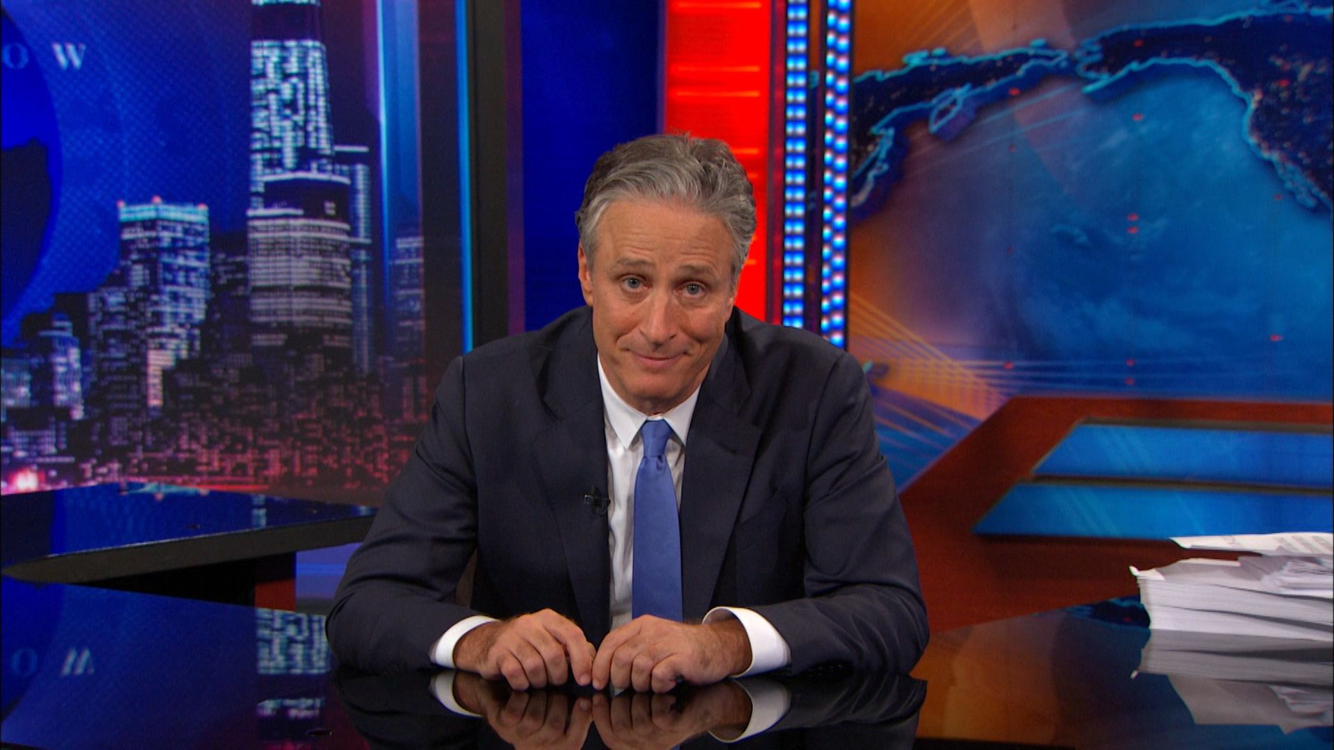 the daily show with jon stewart political comedy tattoo