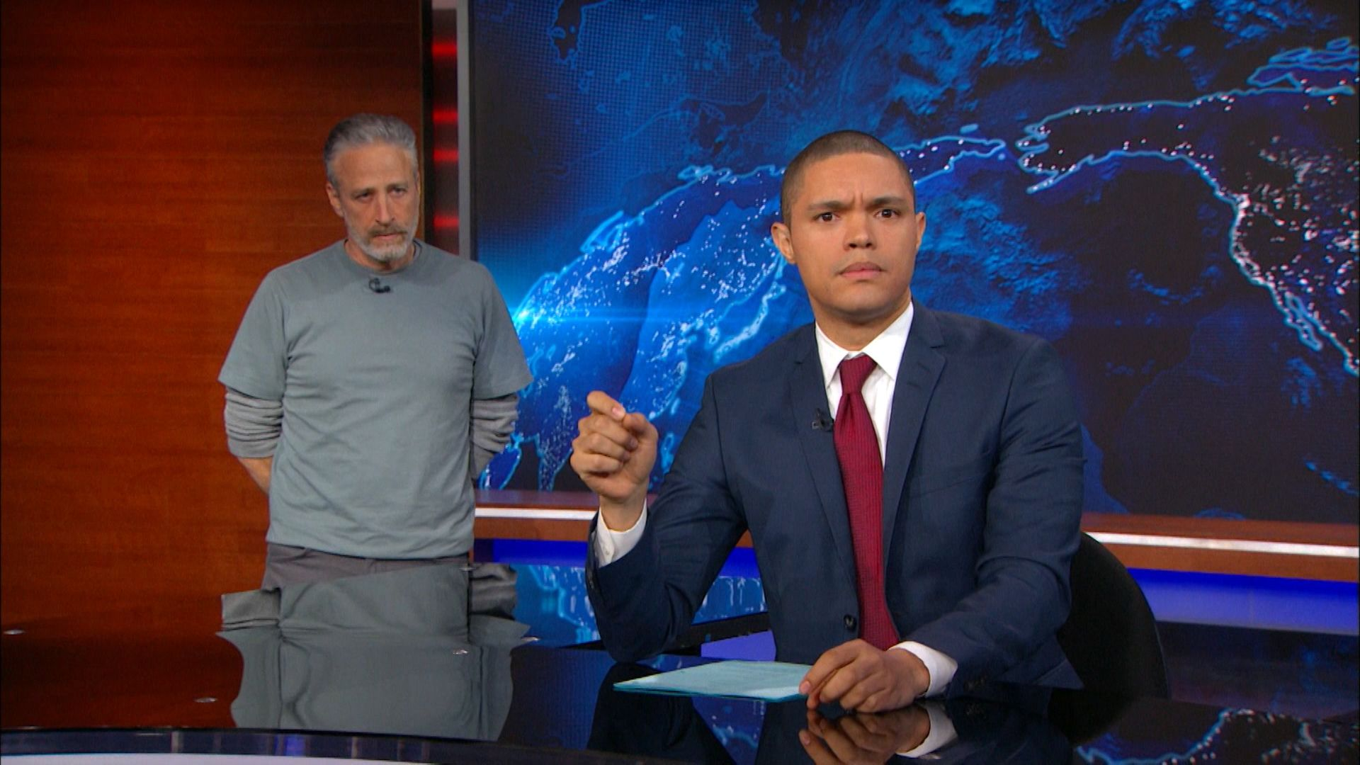 The Daily Show with Trevor Noah - December 7, 2015 - Jon Stewart - Full Episode | Comedy Central