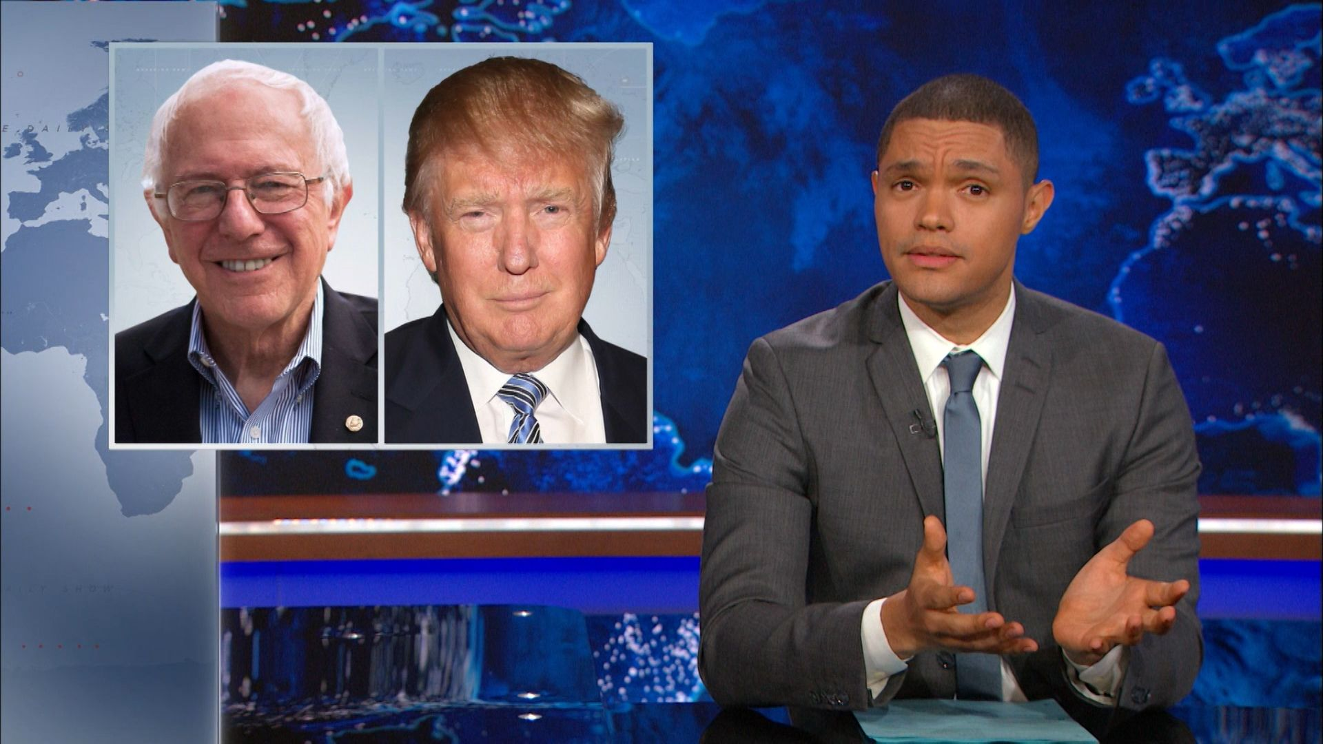 The Legend of Bernie Sanders - The Daily Show with Trevor Noah (Video Clip)    Comedy Central