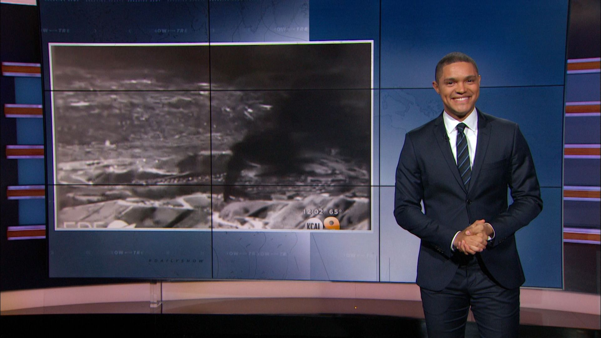 A Methane Emergency in California - The Daily Show with Trevor Noah (Video Clip)
