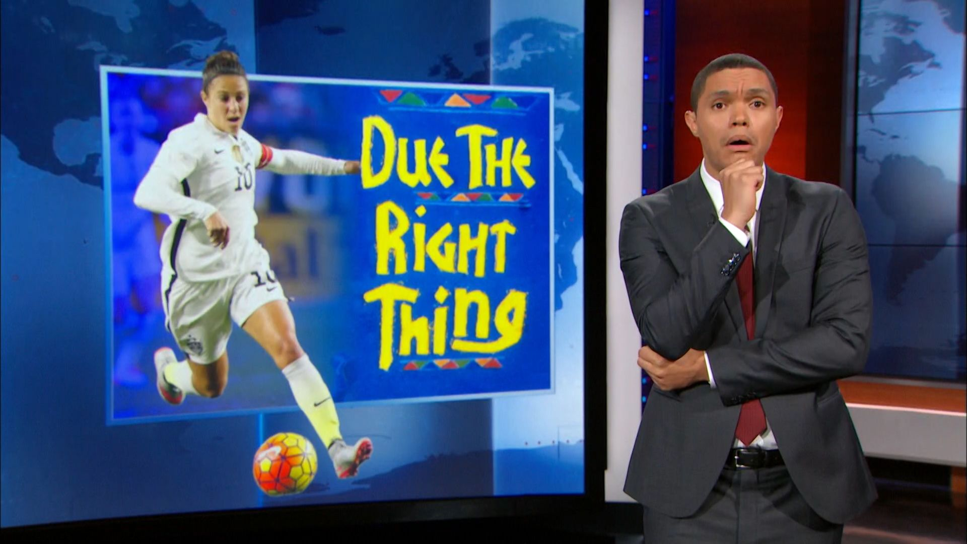 Sexism on the Soccer Field - The Daily Show with Trevor Noah (Video Clip)