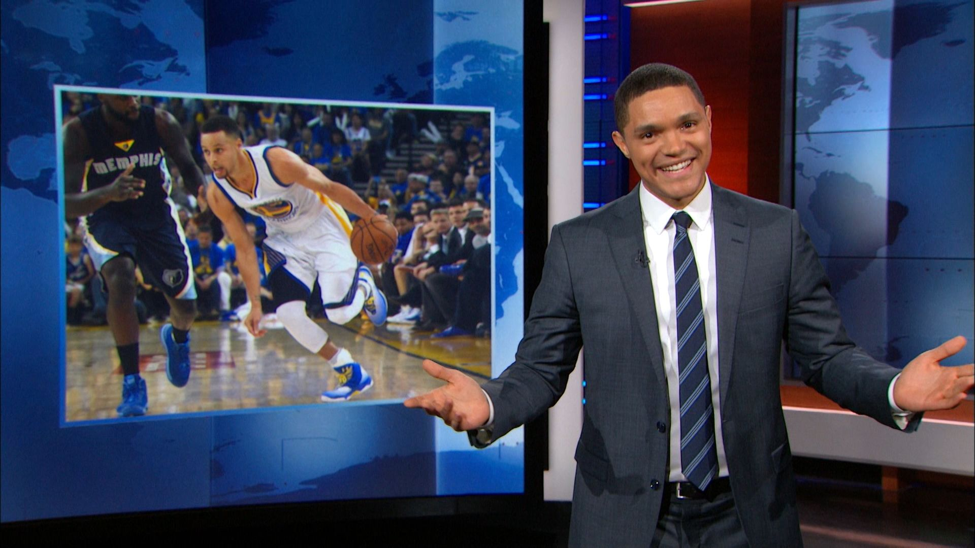 Congrats to the Mamba - The Daily Show with Trevor Noah (Video Clip) | Comedy Central