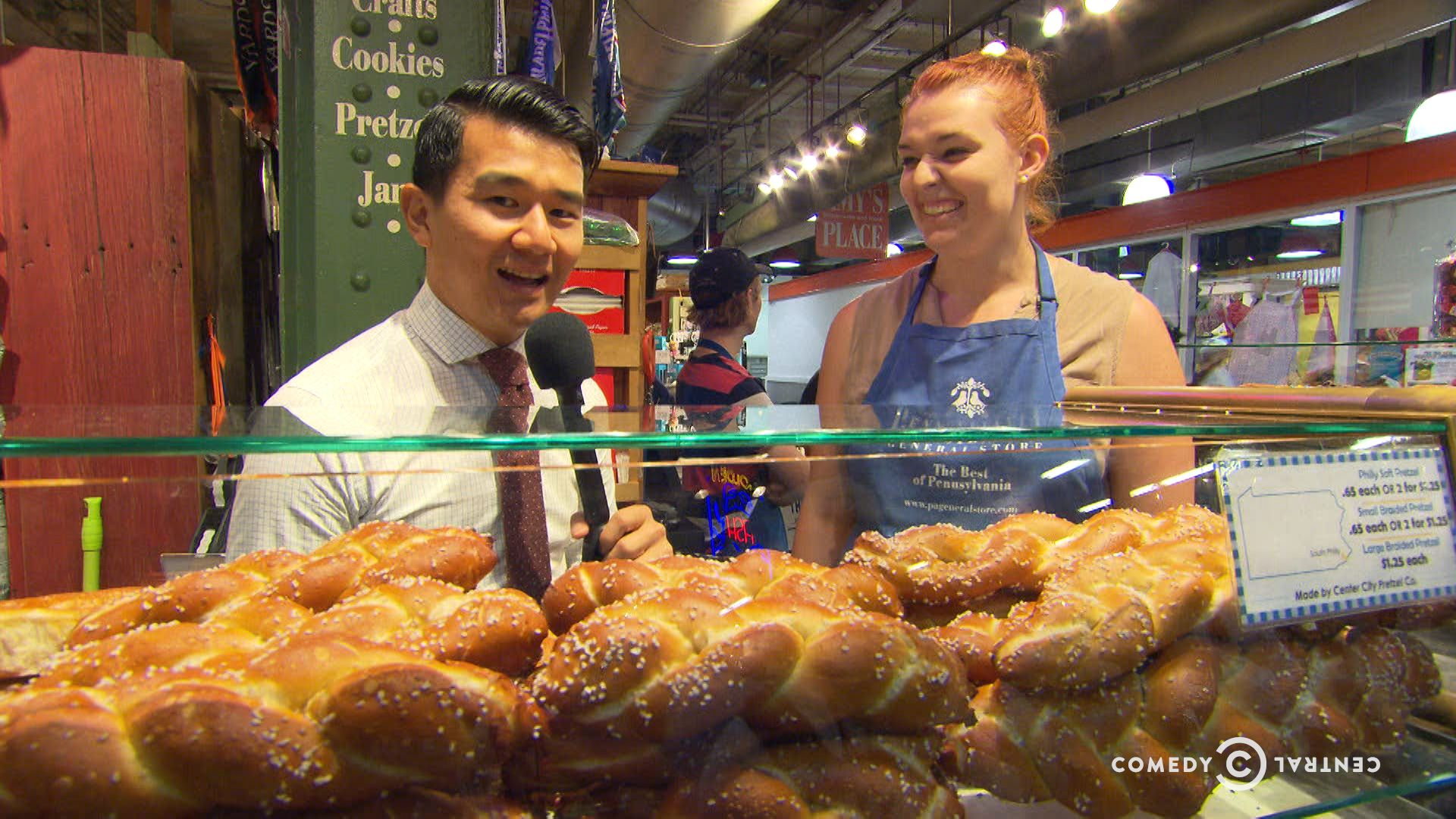 Exclusive - Ronny Chieng's Philly Food Tour - The Daily Show with Trevor Noah | Comedy Central