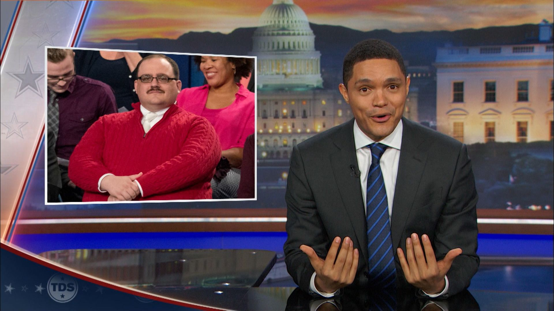 Ken Bone: America's Newest Sweetheart - The Daily Show with Trevor ...