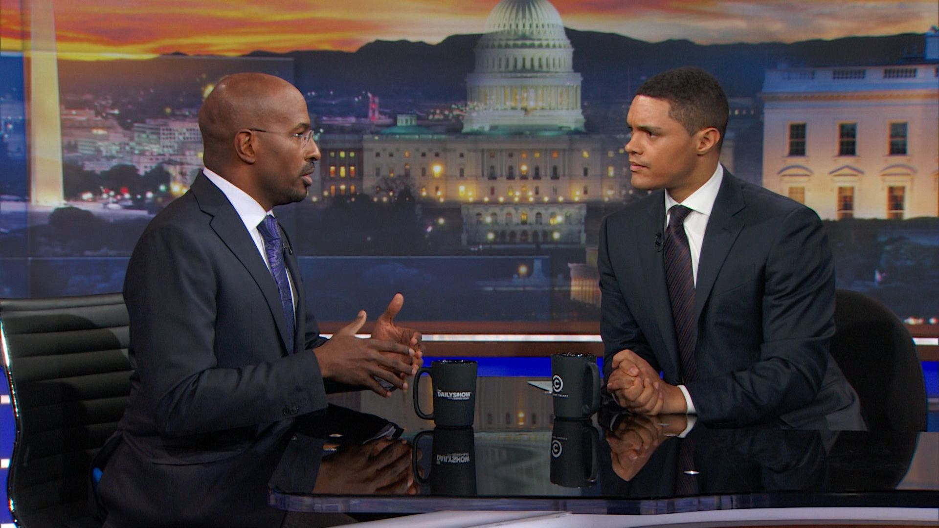 Exclusive - Van Jones Extended Interview - The Daily Show ...