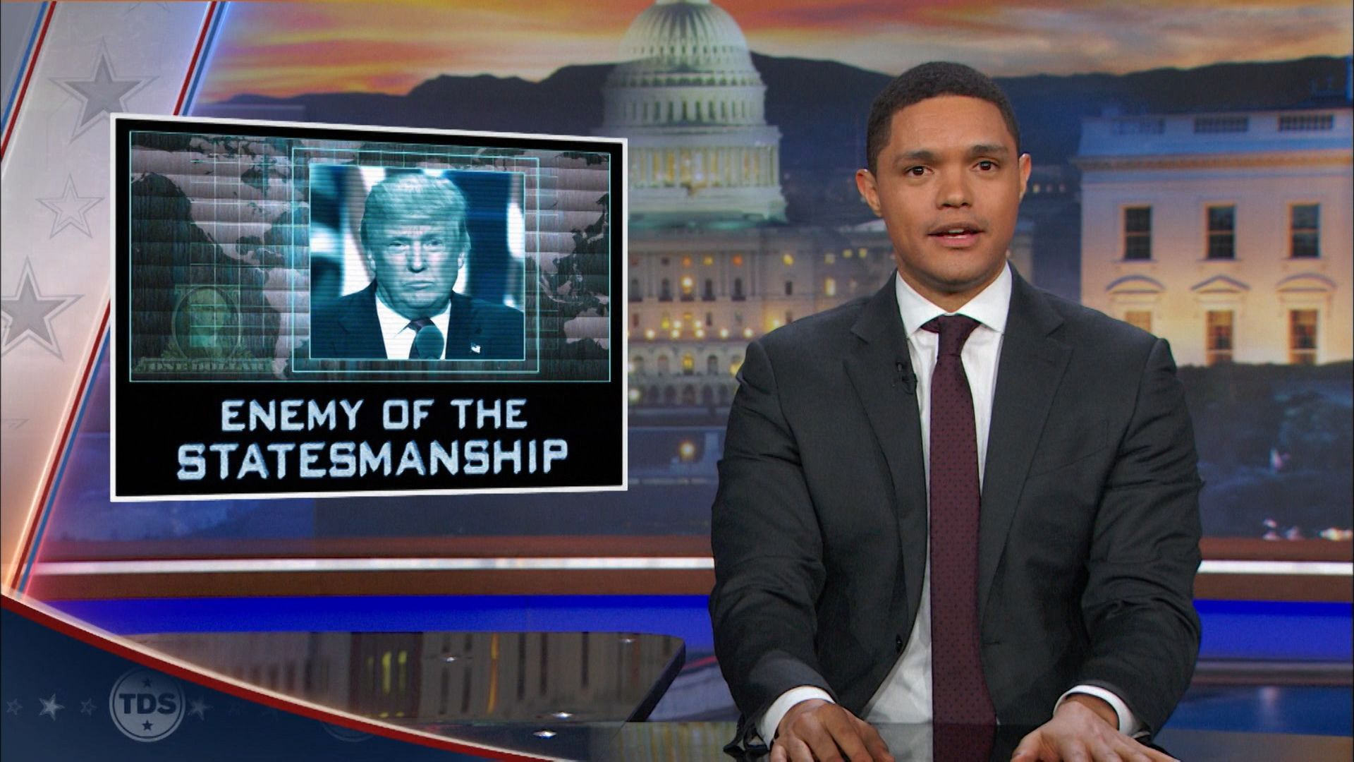 The Daily Show with Trevor Noah - December 6, 2016 - John ...