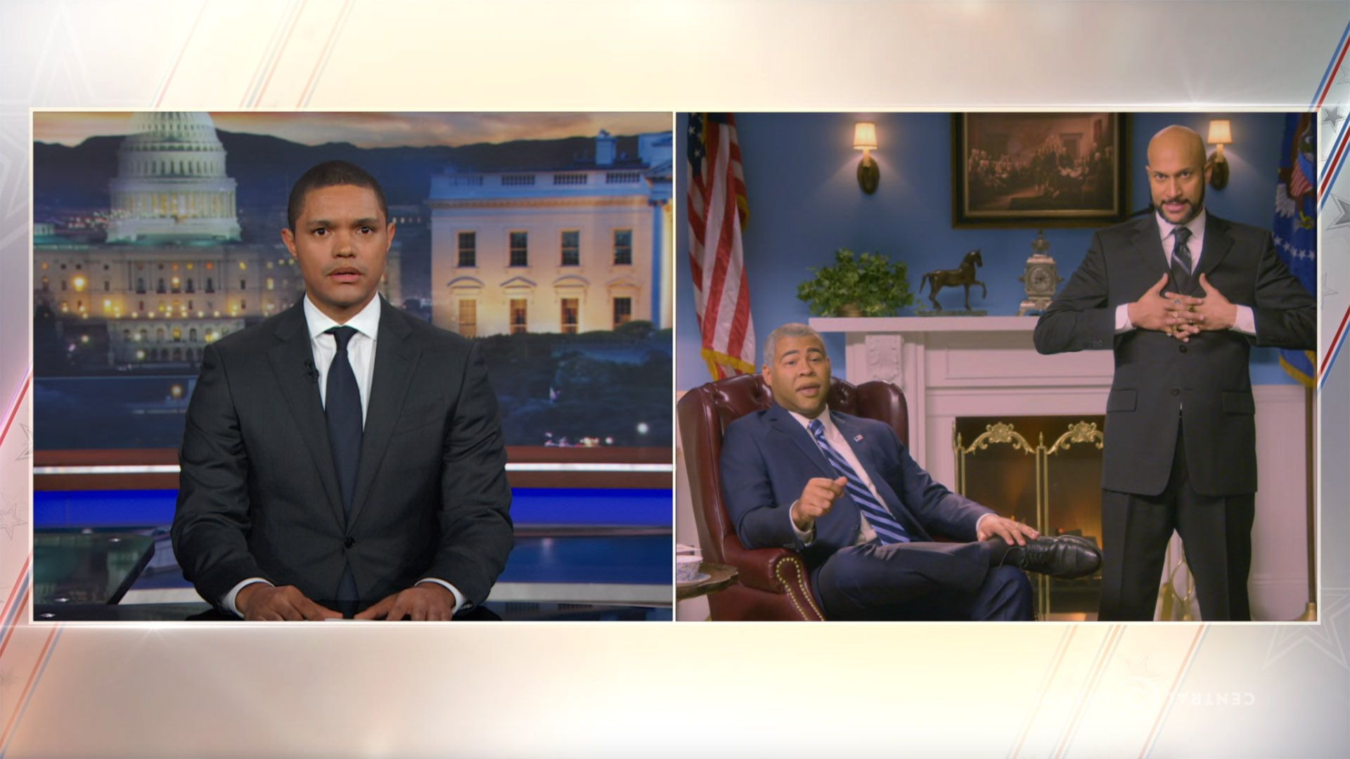 Keegan-Michael Key - A Farewell Address from President Obama's Anger Translator - The Daily Show with Trevor Noah (Video Clip)