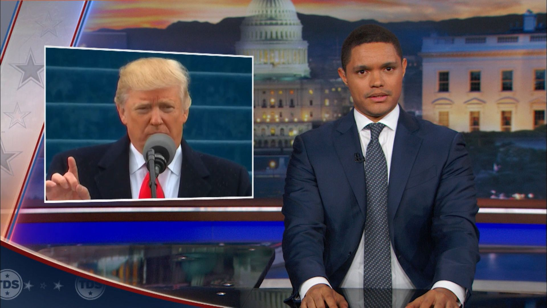 The Inauguration of Donald Trump - The Daily Show with Trevor Noah (Video Clip)