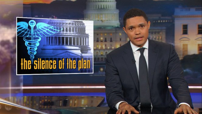 Image result for Trevor Noah: What's In The GOP's Mysterious New Healthcare Bill?
