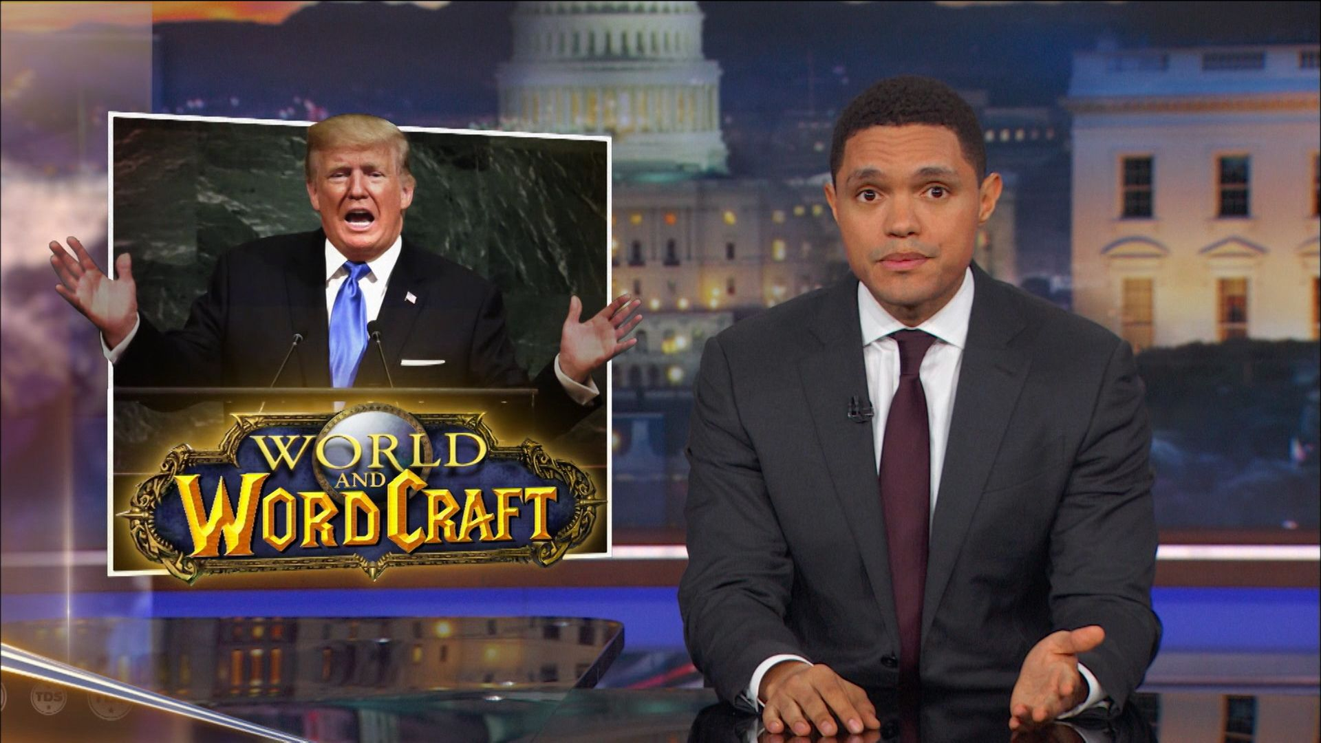 A Trumpian Debut at the United Nations - The Daily Show with Trevor Noah  (Video Clip) | Comedy Central
