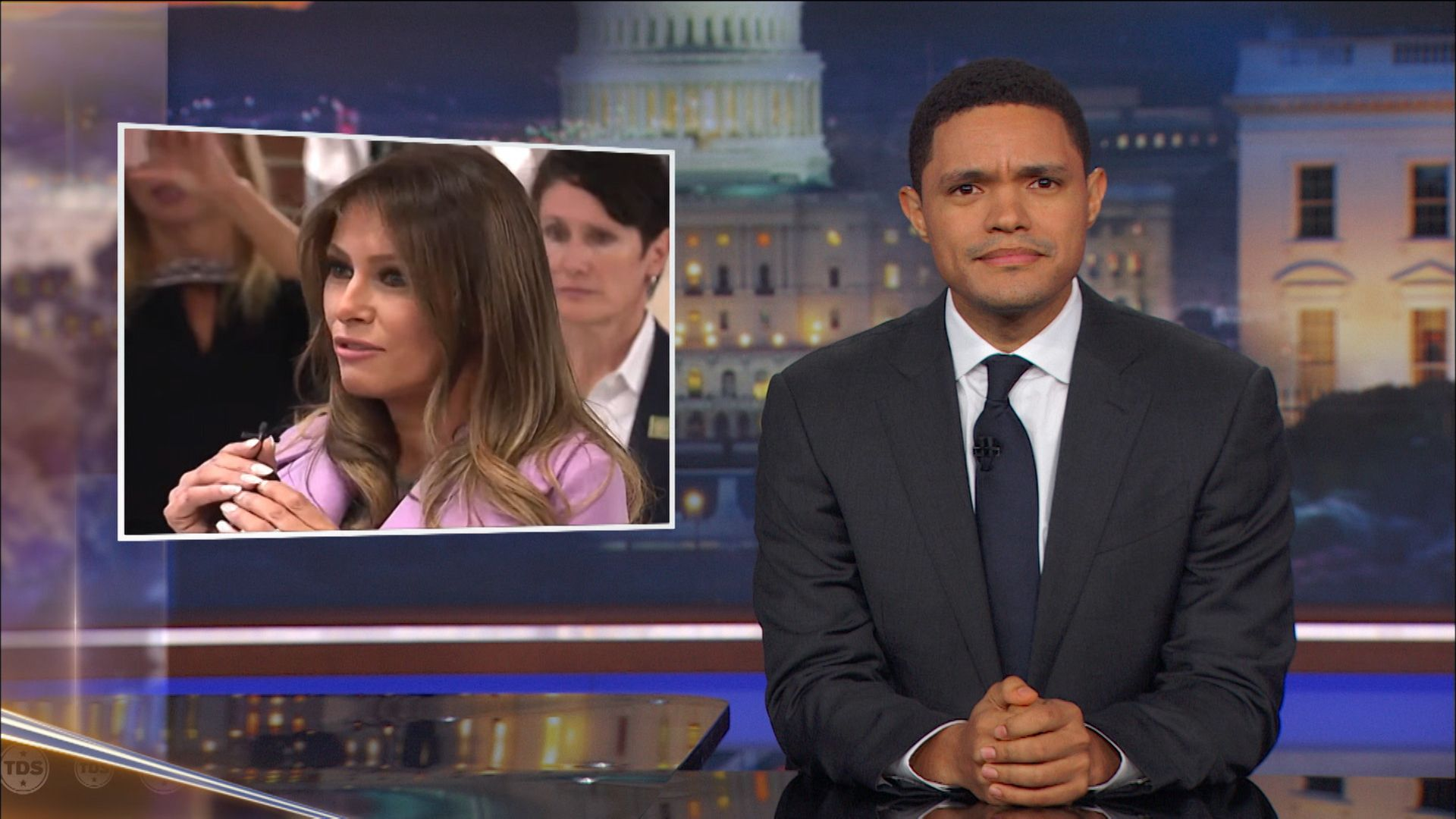 Melania Trump's Brazen Anti-Bullying Campaign Kickoff - The Daily Show with  Trevor Noah (Video Clip) | Comedy Central