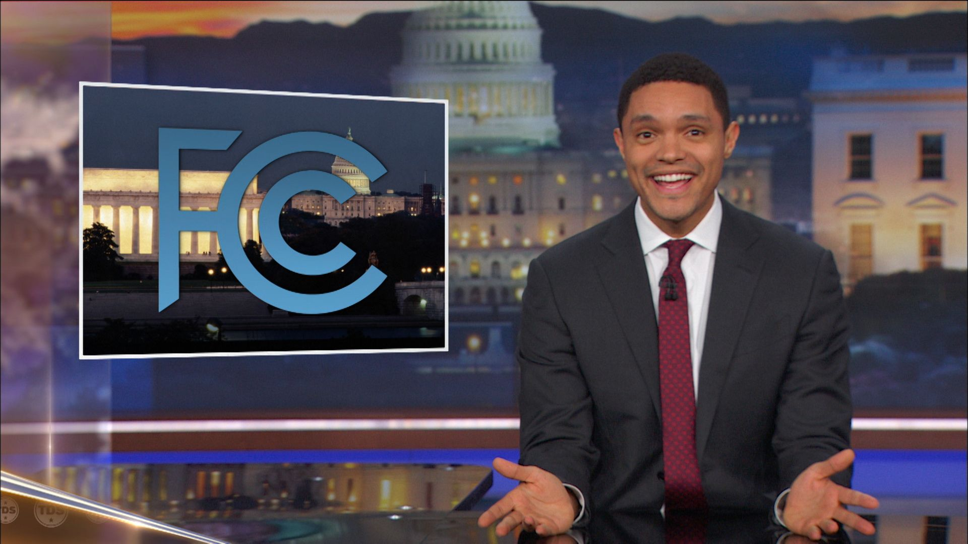 Bye, Felicia: The FCC Kills Net Neutrality & Omarosa Exits the White House  - The Daily Show with Trevor Noah (Video Clip) | Comedy Central