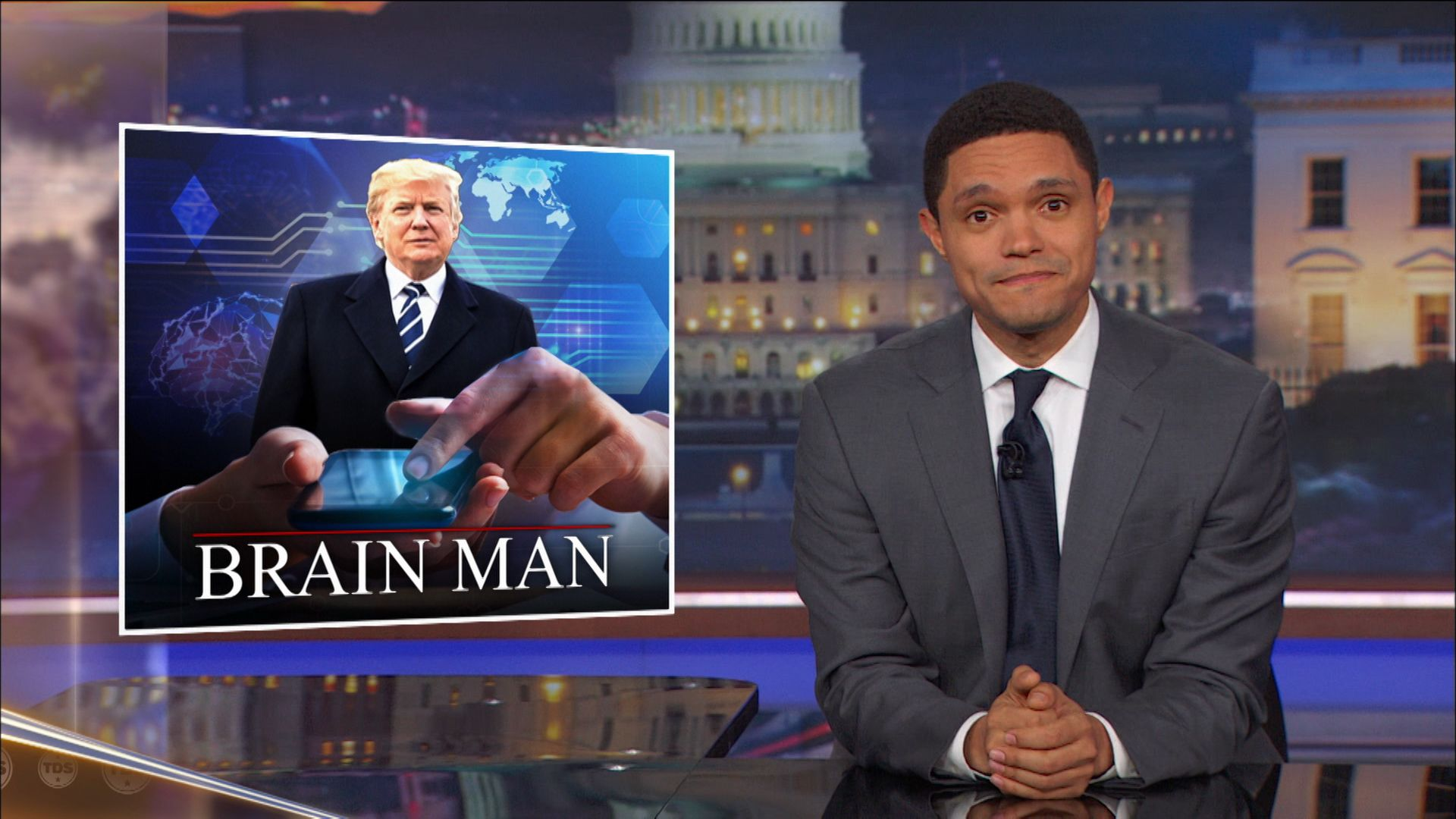 "Trump Confidently Declares Himself a ""Stable Genius"" - The Daily Show with Trevor Noah (Video Clip)"
