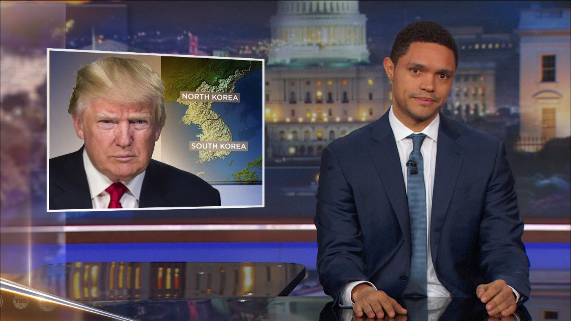 "Trump Calls Non-White Countries ""S**tholes"" - The Daily Show with Trevor Noah (Video Clip)"