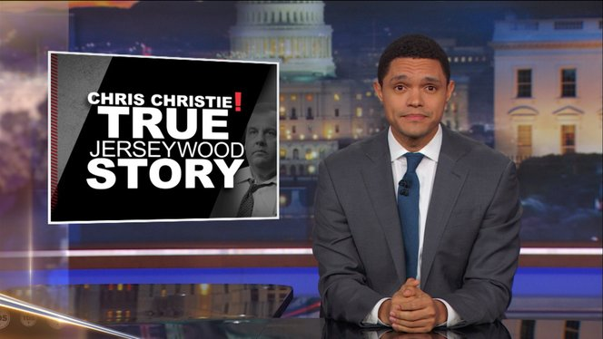 the rise and fall of chris christie the daily show with trevor