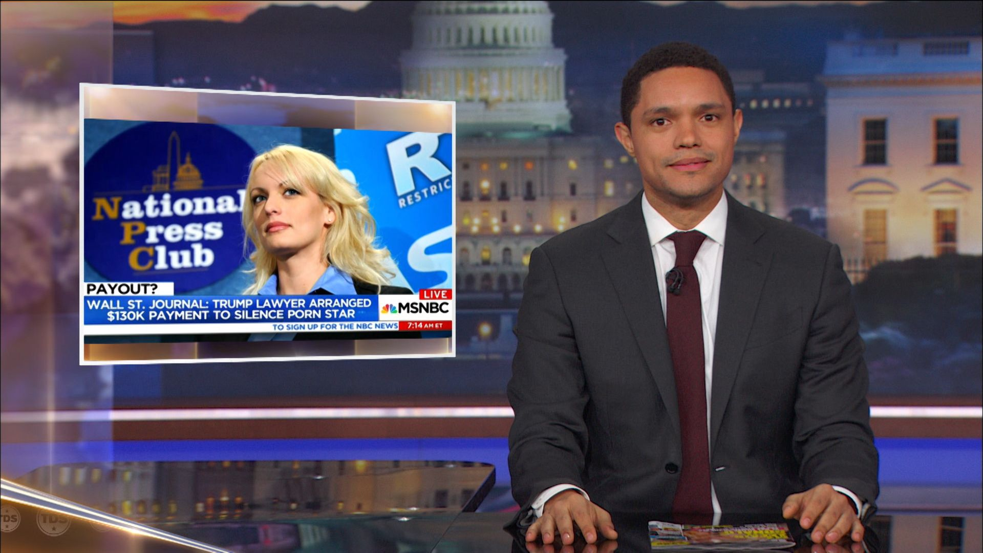 The Weird Non-Sexual Parts of Trump's Affair with Porn Star Stormy Daniels  - The Daily Show with Trevor Noah (Video Clip) | Comedy Central