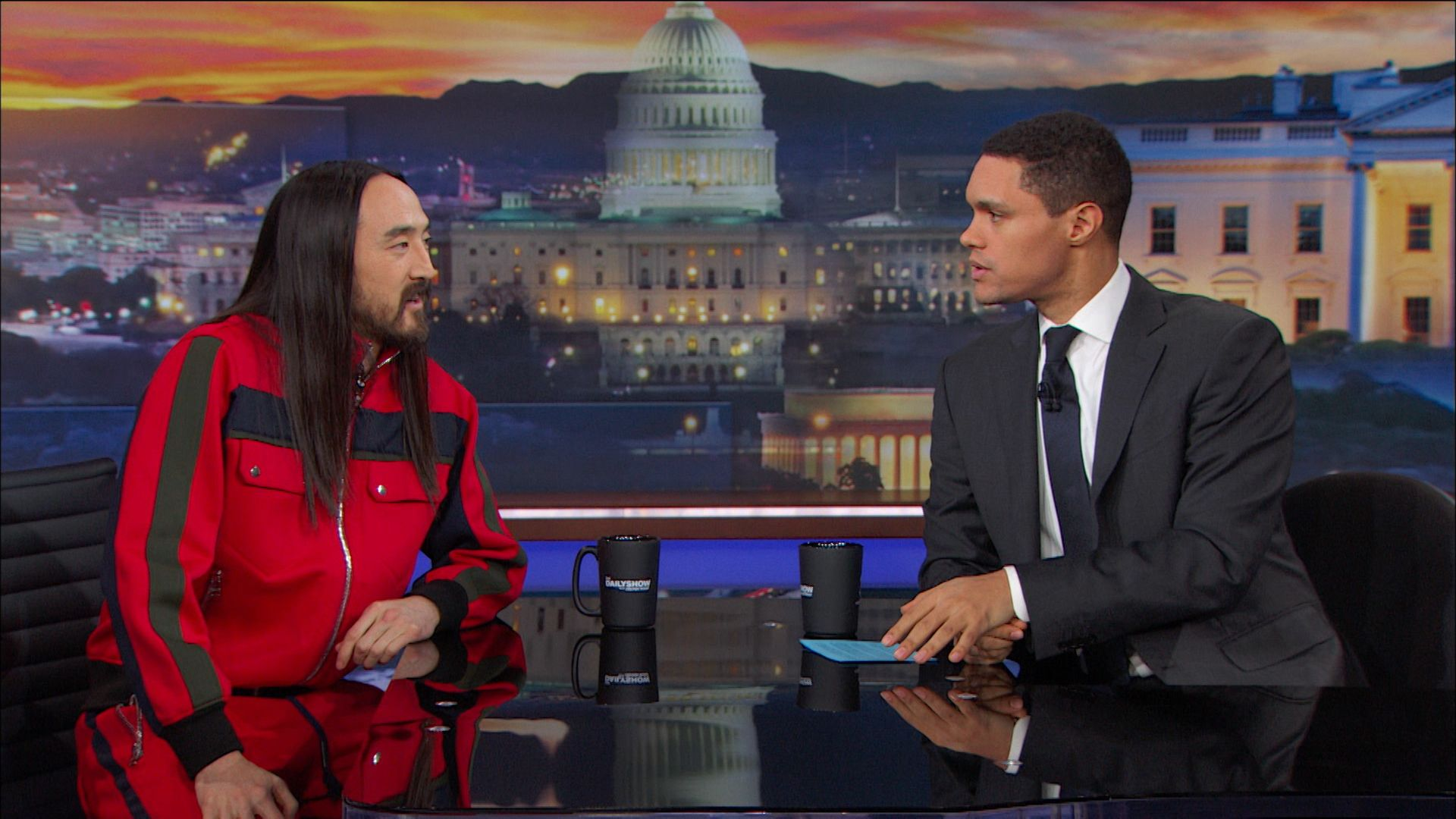 The daily show with trevor noah series comedy central official steve aoki talking about kolony and reaching new heights 442steve aoki reflects on djing in zero gravity and chats about his album kolony ccuart Gallery