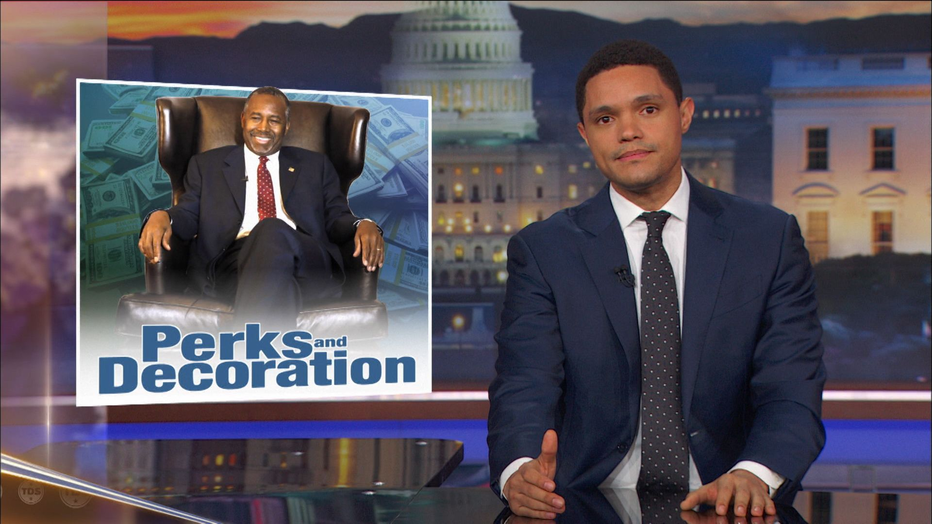 Ben Carson Is Up to Some Shady S**t at HUD - The Daily Show with Trevor Noah (Video Clip)
