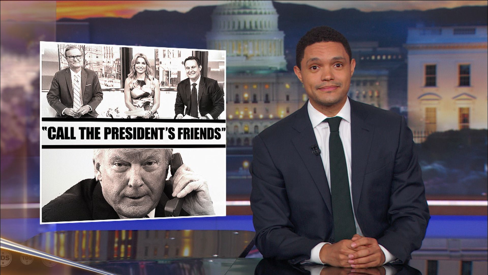 Image result for late night anti trump daily show