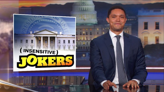 White House Leakers Keep Leaking Leaks - The Daily Show with Trevor ...