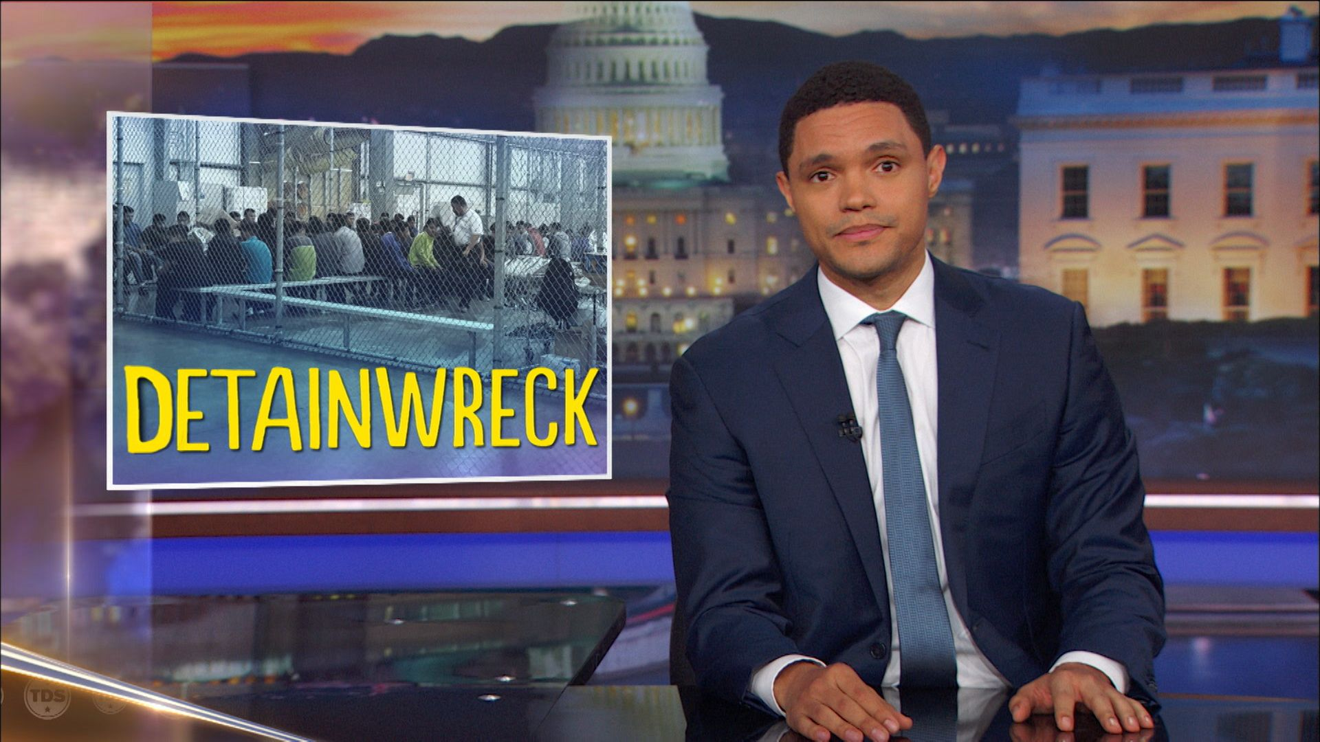 Trump Backs Down on His Family Separation Policy - The Daily Show with Trevor Noah (Video Clip)   Comedy Central