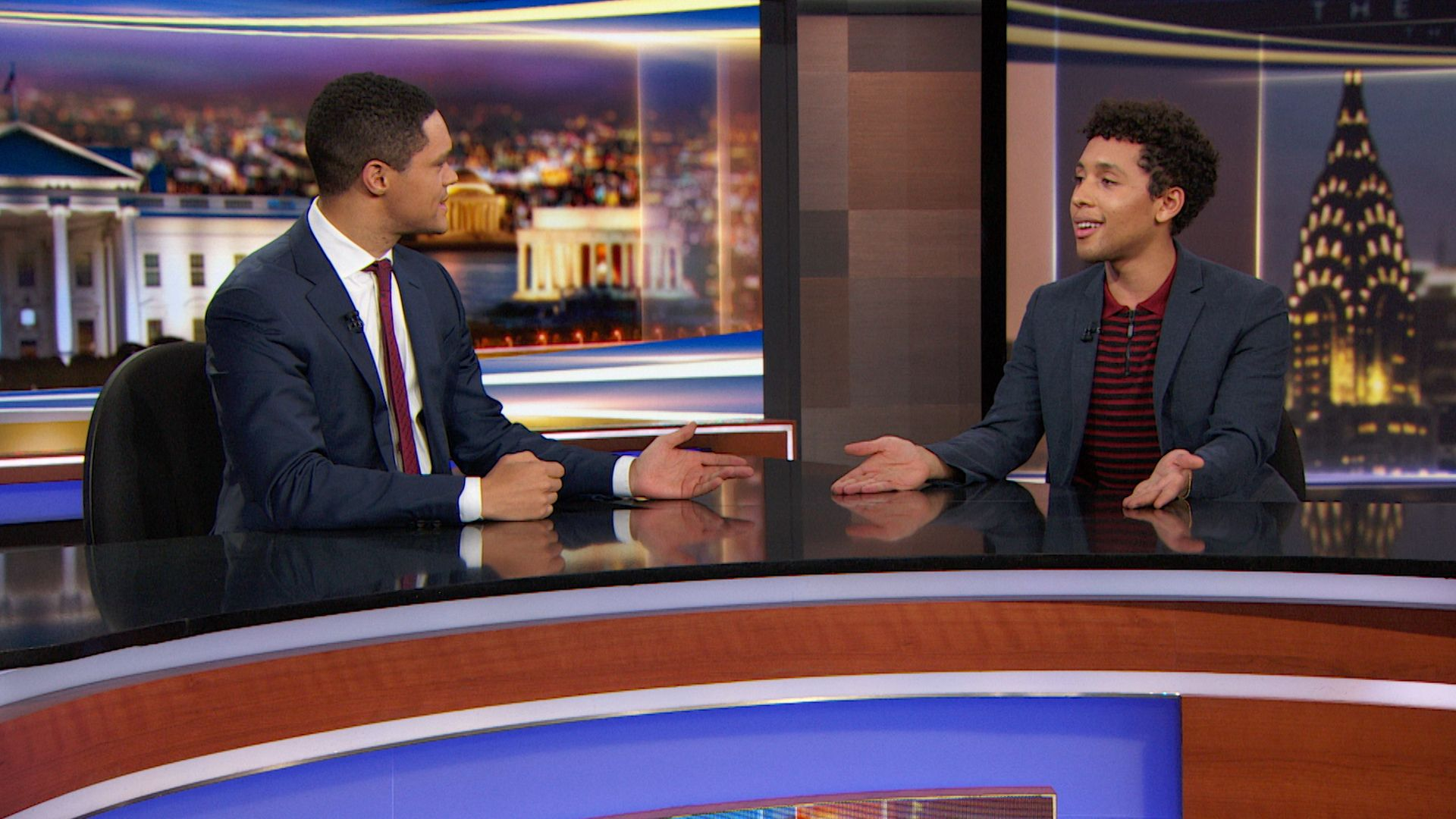 The Daily Show with Trevor Noah - October 11, 2018 - Nicole Chung ...