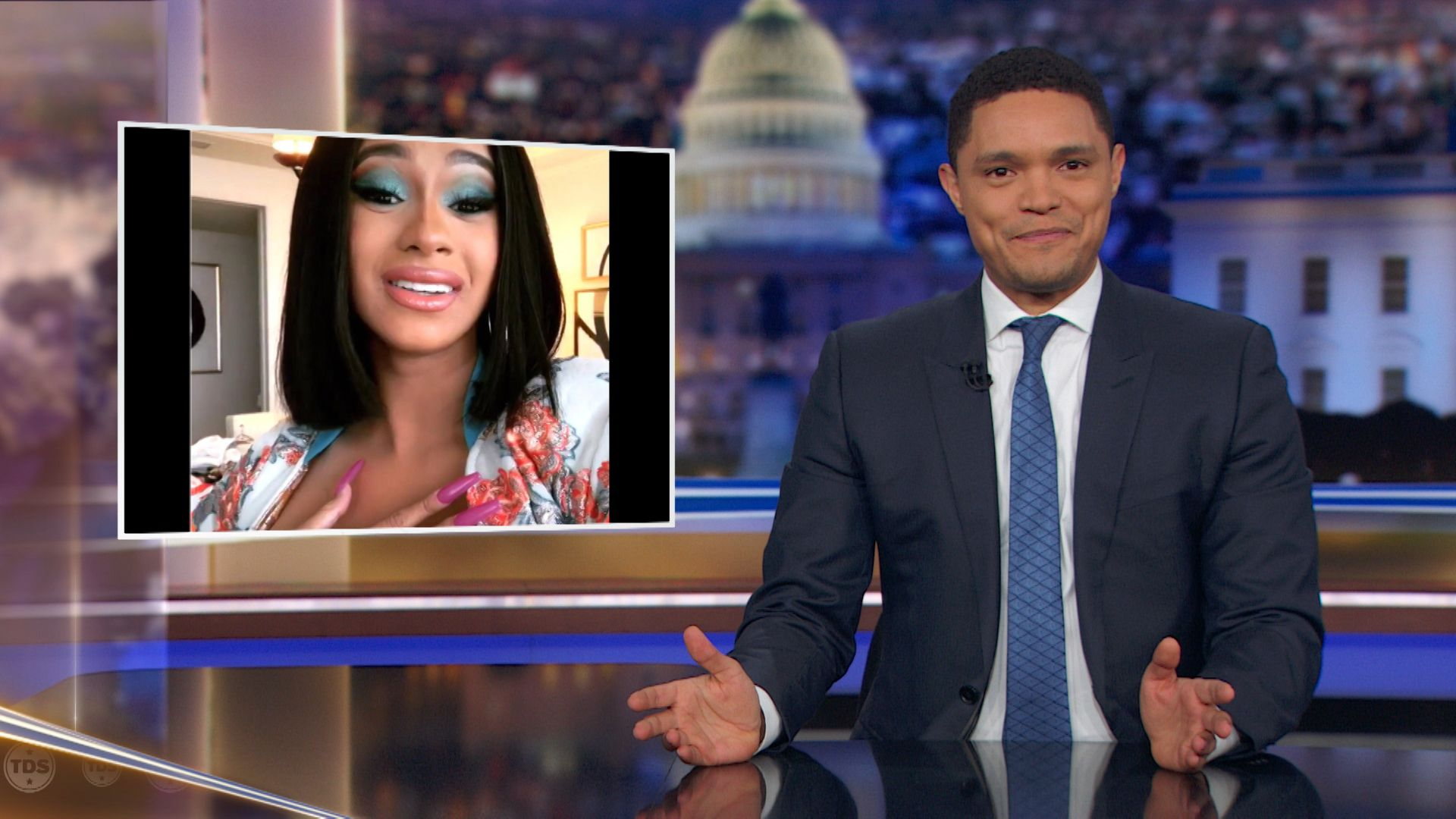 Cardi B Slams the Government Shutdown as Unpaid Workers Resort to Crowdfunding - The Daily Show with Trevor Noah (Video Clip)