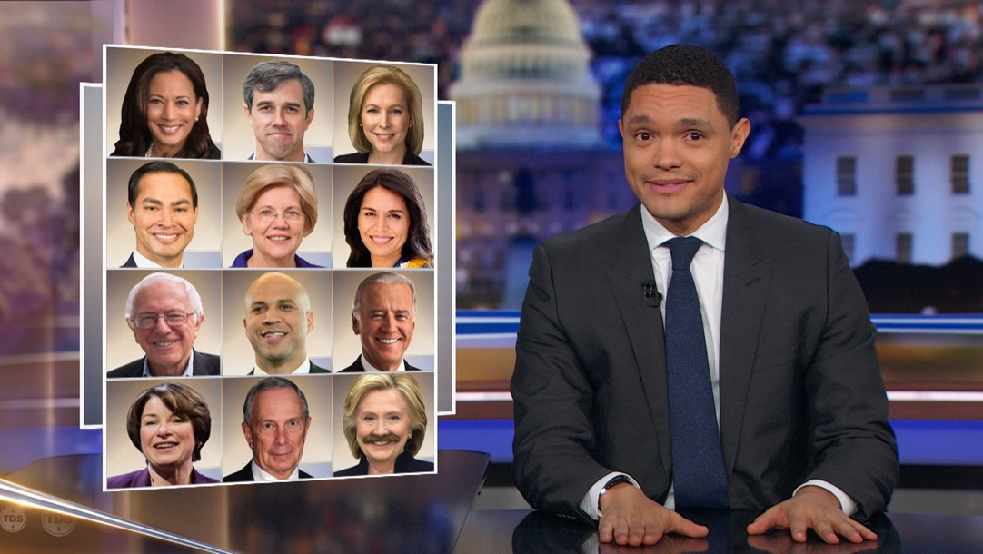 Trevor Noah Tour 2020 Highlight   President Trump Delivers an Unmemorable State of the