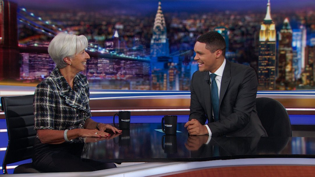 Interview - Christine Lagarde - Economic Equity and the