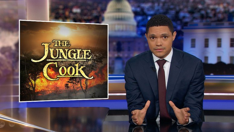 The Daily Show With Trevor Noah Series Comedy Central
