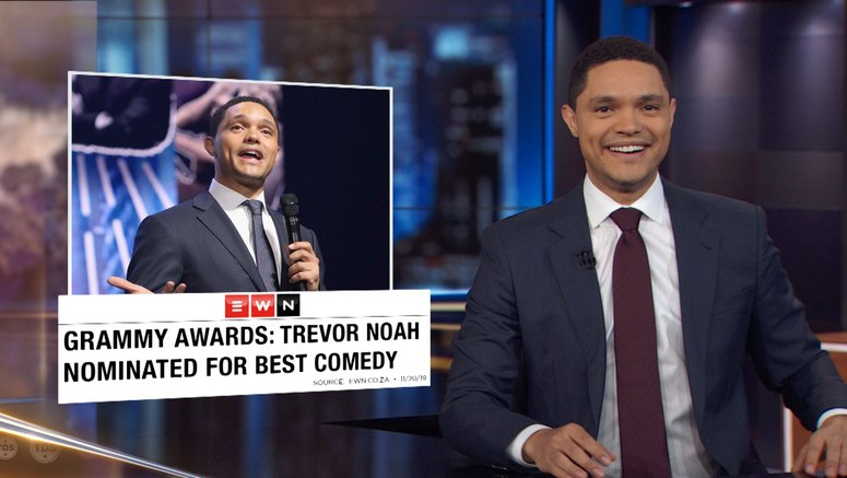 The Daily Show Episodes 2020.The Daily Show With Trevor Noah Series Comedy Central