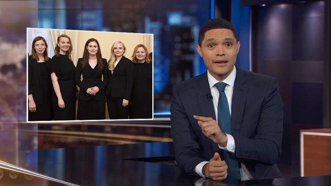 The Daily Show Episodes 2020.Highlight Finland S Young Prime Minister Mattress Theft