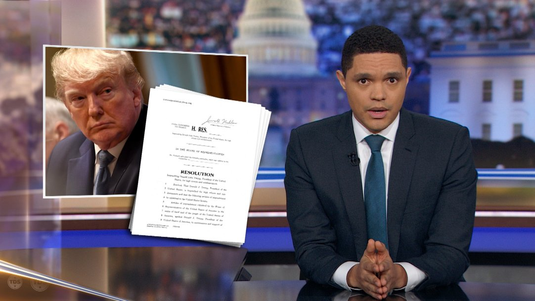 The Daily Show Episodes 2020.Highlight The Magical Wonderful Road To Impeachment