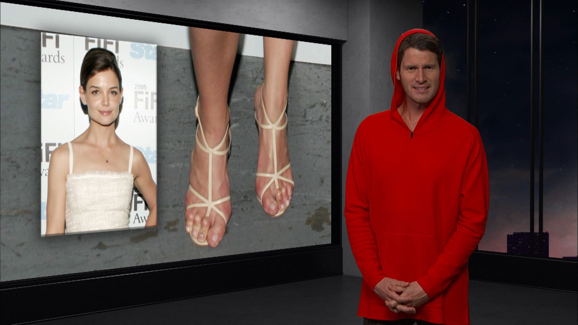 Celebrity Feet Tosh0 Video Clip Comedy Central