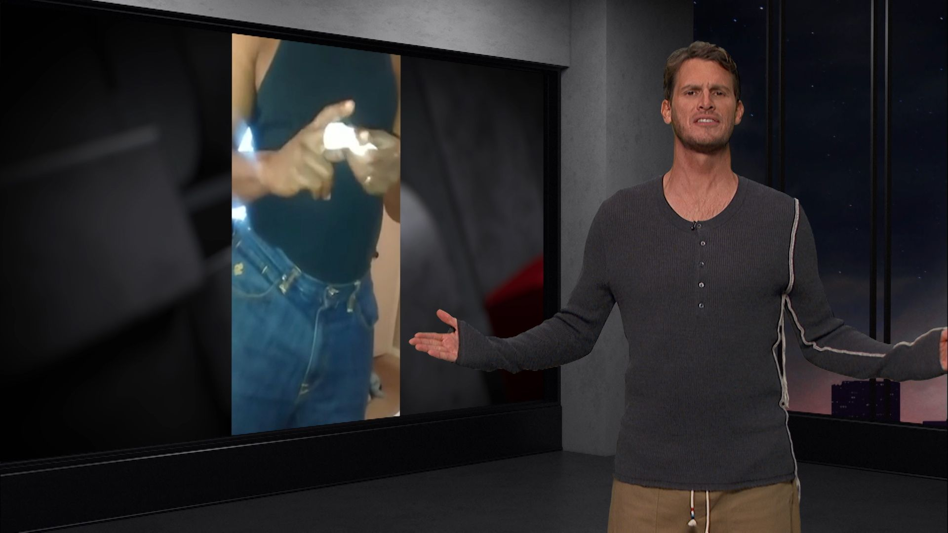 tosh.0 speech jammer episode