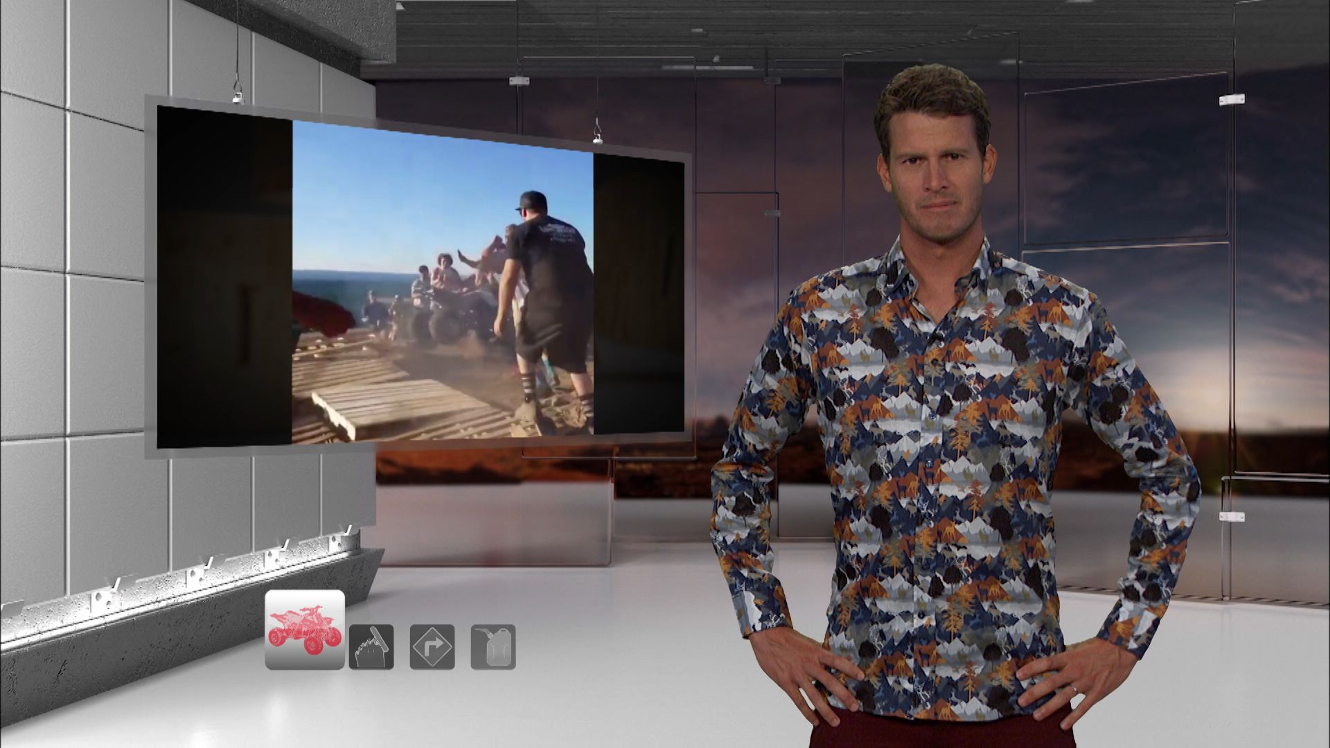 ATV Crash Tosh0 Video Clip Comedy Central