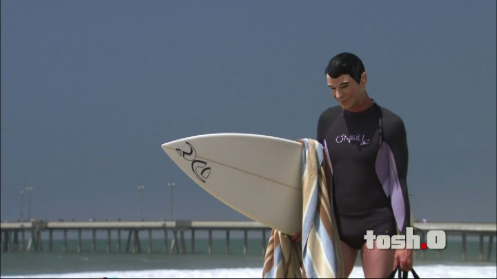 Tosh.0 surfer interview
