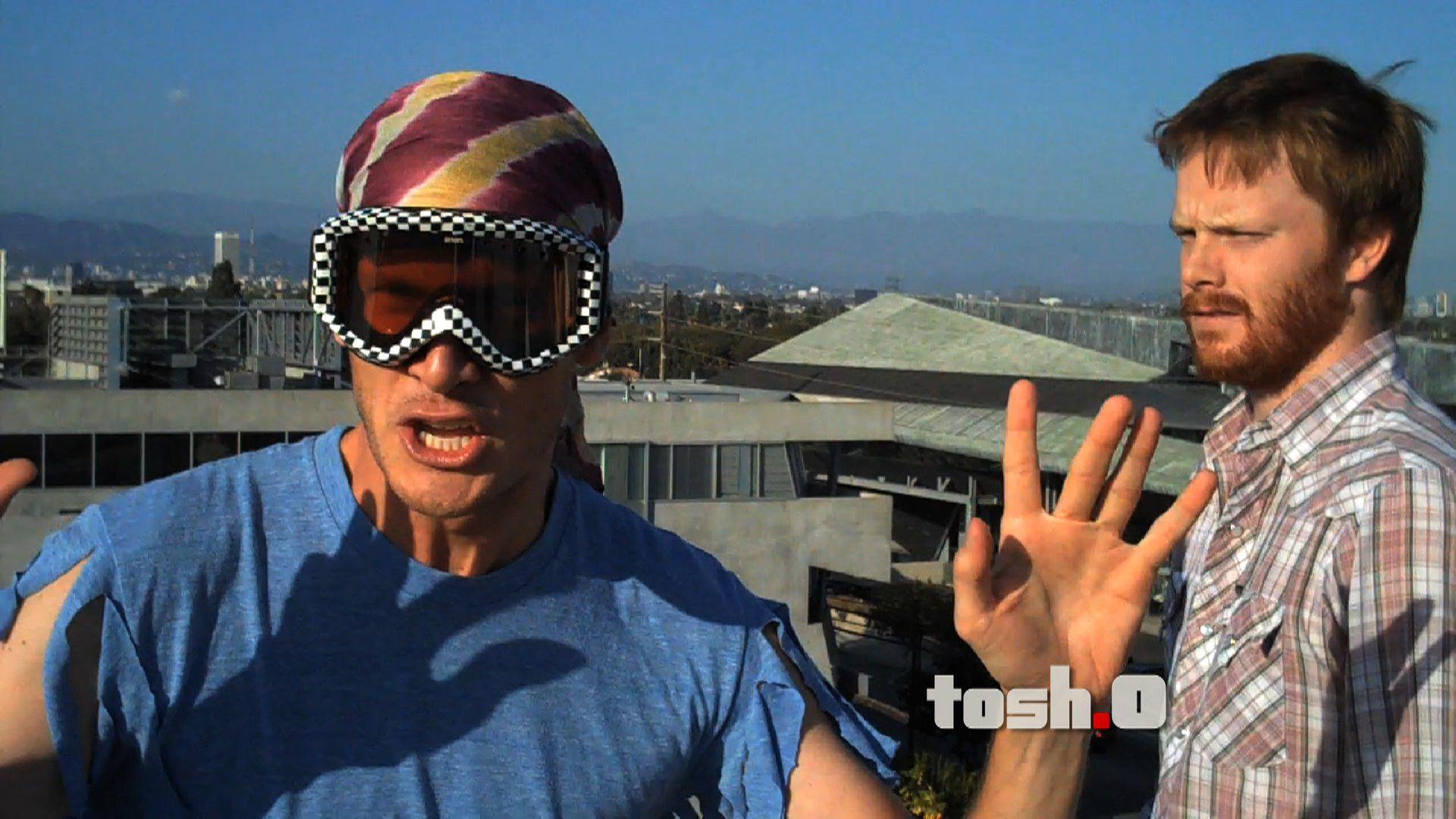Macho Man Randy Savage Impressions Tosh 0 Video Clip Comedy