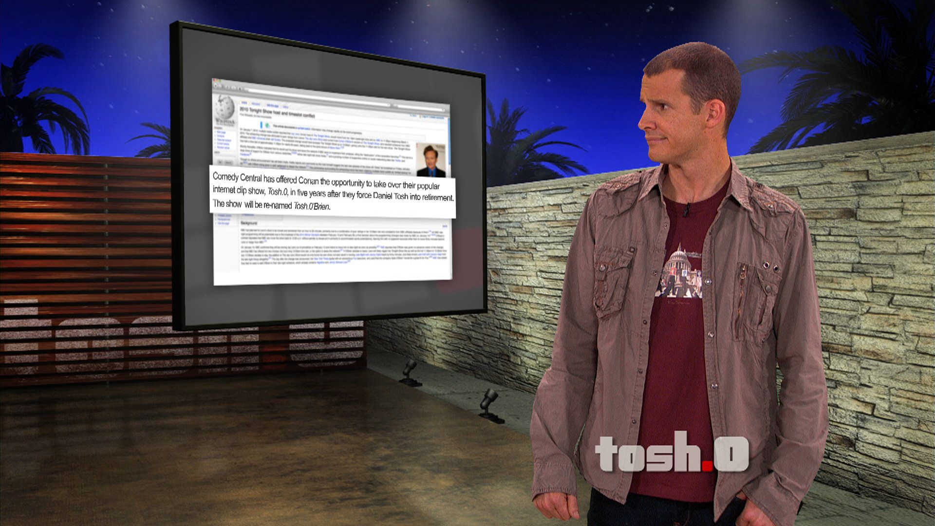 toshobrien tosh0 video clip comedy central